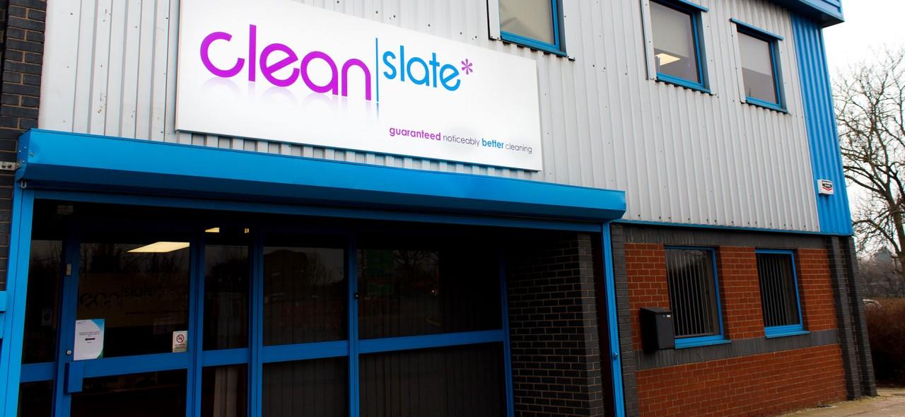 Clean Slate's Derby Office