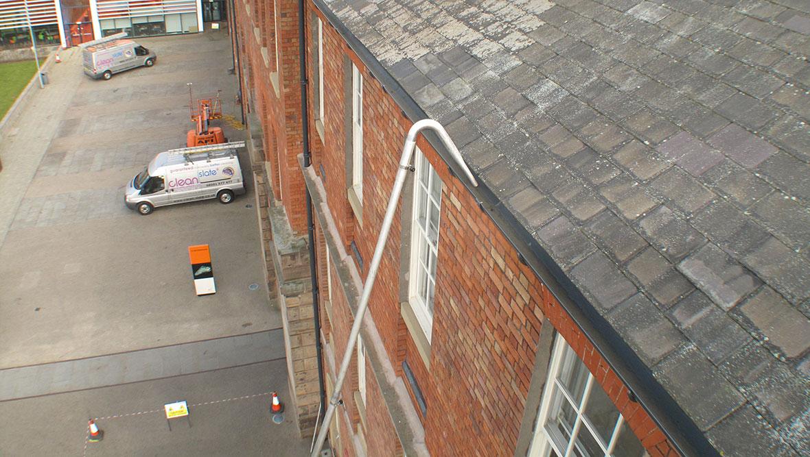 Ladderless Gutter Cleaning Commercial Gutter Cleaning